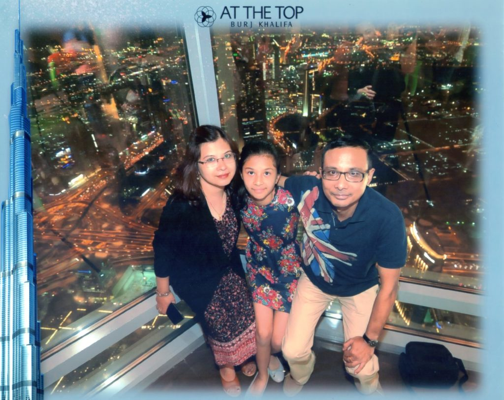 Burj Khalifa - Level 124 - Dubai Trip with Family