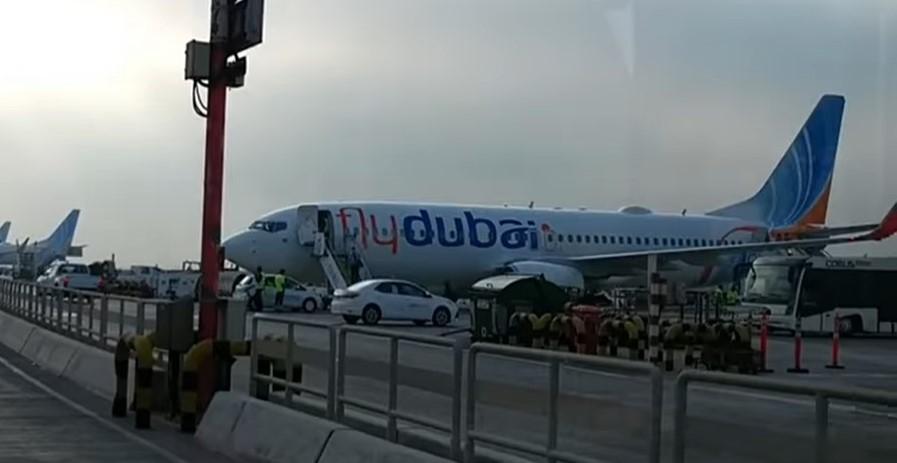 Dubai Trip with Family - Fly Dubai Aircraft