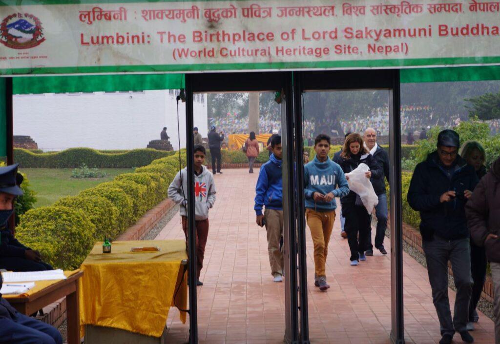 Entrance - Lumbini World Heritage Site