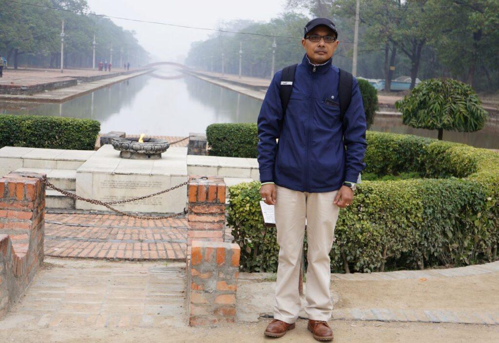 Eternal Peace Flame - Lumbini World Heritage Site Complex