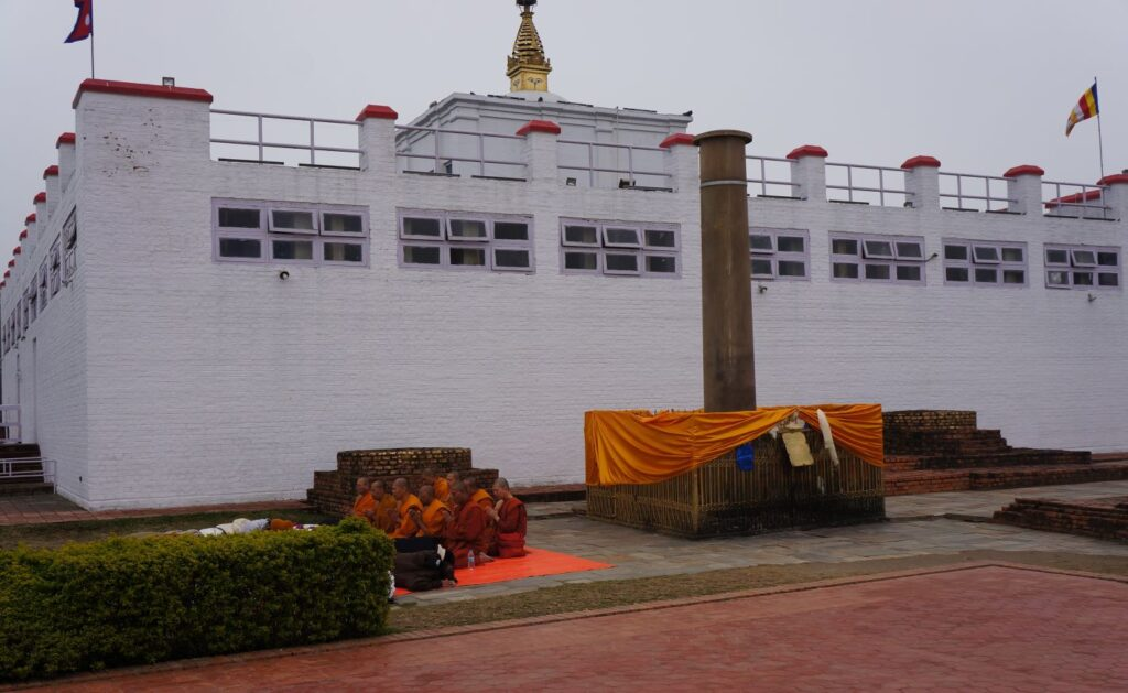 Maya Devi Temple & Ashoka Stambh - Lumbini