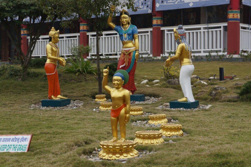 Siddhartha Gautama Childhood - Lumbini World Heritage Site Complex